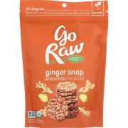 Go Raw Organic Ginger Snap Sprouted Cookie, 3 Ounce -- 12 per case.