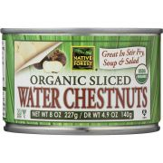 Native Forest Organic Sliced Water Chestnuts, 8 Ounce -- 6 per case.
