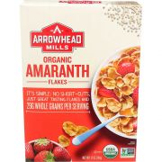 Arrowhead Mills Organic Amaranth Flake Cold Cereal, 12 Ounce -- 12 per case.