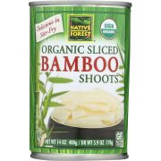 Native Forest Organic Sliced Bamboo Shoots, 14 Ounce -- 6 per case.