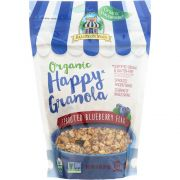 Bakery On Main Organic Sprouted Blueberry Flax Happy Granola, 11 Ounce -- 6 per case.