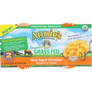 Annies Homegrown Organic Microwave Macaroni and Cheese Cup, 4.02 Ounce -- 6 per case.