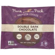 Munk Pack Double Dark Chocolate Cookie, 2.96 Ounce -- 6 per case.