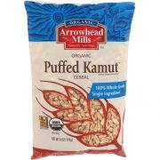 Arrw Puffed Cereal Kamut No Salt - 6 Oz Pack -- 12 Per Case.
