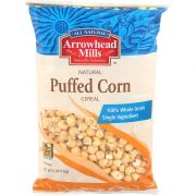 Puffed Corn Cereal No Salt - 6 Oz Bag -- 12 Per Case.