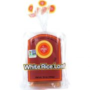 Ener-G Foods White Rice Loaf, 16 Ounce -- 6 per case.
