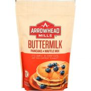 Arrowhead Mills Buttermilk Pancake and Waffle Mix, 26 Ounce -- 6 per case.
