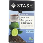 Stash Double Bergamot Earl Grey Tea -- 6 per case.
