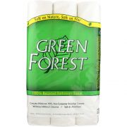 Green Forest 2 Ply White Bathroom Tissue -- 8 per case.