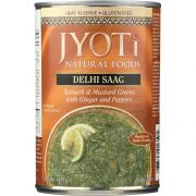 Saag,Spinach-Mustard Greens - 15 ounce  -- 12 per case.