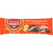 Heavenly Organics Peanut Chocolate Honey Patty, 1.16 Ounce -- 16 per case.
