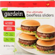 Gardein The Ultimate Beefless Slider, 10 Ounce -- 6 per case