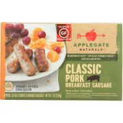 Applegate Farm Natural Classic Pork Breakfast Sausage, 7 Ounce -- 12 per case.