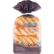 Bakerly Brioche Rolls, 9.9 Ounce -- 9 per case.