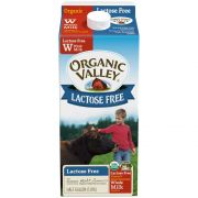 Organic Valley Lactose Free Ultra Pasteurized Whole Milk, 64 Fluid Ounce -- 6 per case