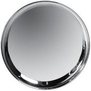 Co-Rect Stainless Steel Round Bar Tray, 0.75 x 15.9 x 15.9 inch -- 24 per case.