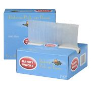 6X10.75 Interfolded Wax Bakery Tissue -- 10 case -- 1000 count