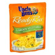 Uncle Bens Garden Vegetable Ready Rice, 8.8 Ounce -- 12 per case.