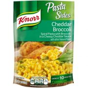 Knorr Cheddar Broccoli Pasta Sides, 4.3 Ounce -- 12 per case.
