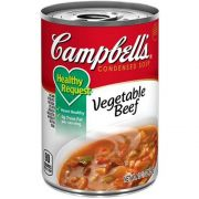 Campbells Healthy Request Vegetable Beef Soup, 10.5 Ounce -- 12 per case.