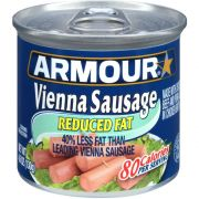 Armour Reduced Fat Vienna Sausage, 4.6 Ounce -- 24 per case.