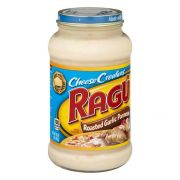 Ragu Roasted Garlic Parmesan Sauce, 16 Ounce -- 12 per case.