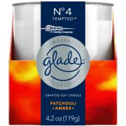 Glade Number 4 Tempted Candle, 4.2 Ounce -- 6 per case.