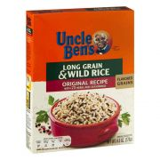 Uncle Bens Original Long Grain Wild Rice, 6 Ounce -- 12 per case.