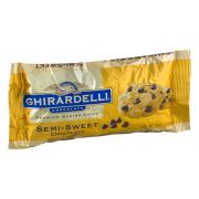Ghirardelli Semi Sweet Chocolate Chips, 12 Ounce -- 12 per case.