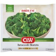 Birds Eye C and W Broccoli Florets, 14 Ounce -- 12 per case.