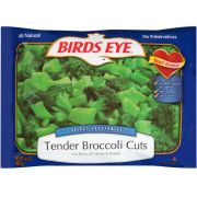 Birds Eye Select Vegetables Tender Broccoli Cuts, 14.4 Ounce -- 12 per case.