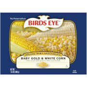 Birds Eye Baby Gold and White Corn, 14.4 Ounce -- 10 per case.