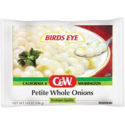 Birds Eye C and W Petite Whole Onions, 14 Ounce -- 12 per case.