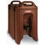 Araven Brown Insulated Beverage Dispenser, 318 Ounce -- 1 each.