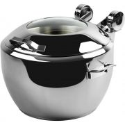 Smart W Soup Urn with Glass Lid, 17.5 x 20 x 11.875 inch -- 1 each.