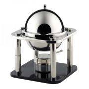 Smart Domino Stainless Steel Sauce Chafer, 10 x 10 x 12.5 inch -- 1 each.