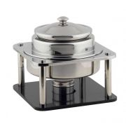 Smart Domino Stainless Steel Soup Station Stand, 14 x 14 x 13 inch -- 1 each.
