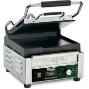 Waring Commercial Tostato Perfetto Compact Flat Panini Toasting Grill with Timer, 120 Volts -- 1 each.