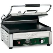 Waring Commercial Tostato Supremo Large Flat Panini Toasting Grill with Timer, 120 Volts -- 1 each.