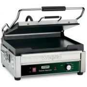 Waring Commercial Full Size Flat Panini Toasting Grill, 120 Volts -- 1 each.