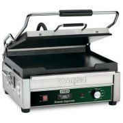 Waring Commercial Grooved Flat Panini Toasting Grill with Timer, 120 Volts -- 1 each.
