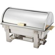 Winco Dallas Stainless Steel Full Size Heavyweight Chafer , 8 Quart -- 1 each.