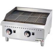 Winco Spectrum Gas Radiant Charbroiler and Conversion Kit, 24 x 27 x 15.6 inch -- 1 set.