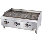 Winco Spectrum Gas Radiant Charbroiler and Conversion Kit, 36 x 27 x 15.6 inch -- 1 set.