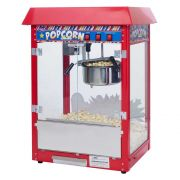 Winco Showtime Red Electric 8 Ounce Popcorn Machine Set, 120V -- 1 each.