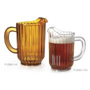 GET Enterprises inc Styrene Acrylonitrile Clear Pitcher, 32 Ounce -- 12 per case.