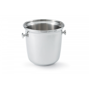 Vollrath Double Stainless Steel Wine Bucket with Handles -- 1 each.