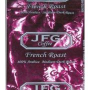JFG French Roast Blend Portion Pack Coffee, 1.1 Ounce -- 72 per case.
