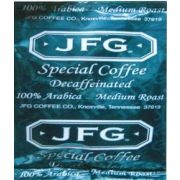 JFG 100 Arabica Decaf Coffee Special Blend, 1.25 Ounce -- 72 per case.