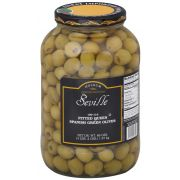 Seville 100/110 Pitted Queen Olive, 1 Gallon -- 4 per case.